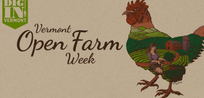 Vermont Open Farm Week - Farmer Participation