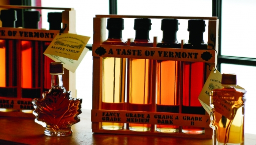 Butternut Mtn Farm Syrup in Window2